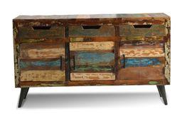 Sideboard Avila - Altholz mit Metallbeinen – Bild 4