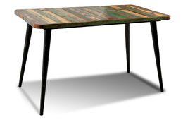 Tisch Avila - Altholz mit Metallbeinen – Bild 1