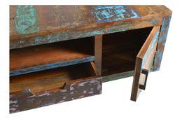 Tisch Avila - Altholz mit Metallbeinen – Bild 3