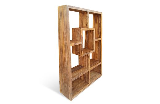 Bücherregal Cube massiv Holz Moebel Palisander Bücherschrank Regal – Bild 3