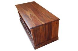 """TV Unterschrank  """"Florenz"""" natur braun Palisander massiv Wohnzimmertisch Tisch Möbel – Bild 2"""