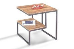 Lamp-Tisch ORIYA Palisander/Sheesham natur gewachst Wohnzimmertisch – Bild 1