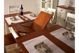Ausstellungsartikel Esstisch 180cm Gotland cremeweiß  massiv Esszimmer Küchentisch Speisetisch – Bild 9