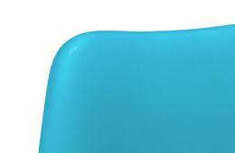 Stuhl Color Boom - Kunststoff - Buche - lackiert - blau / natur – Bild 5