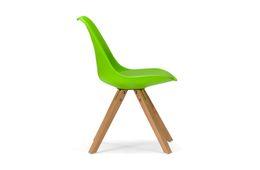 Stuhl Color Boom - Kunststoff - Buche - lackiert - grün / natur – Bild 3