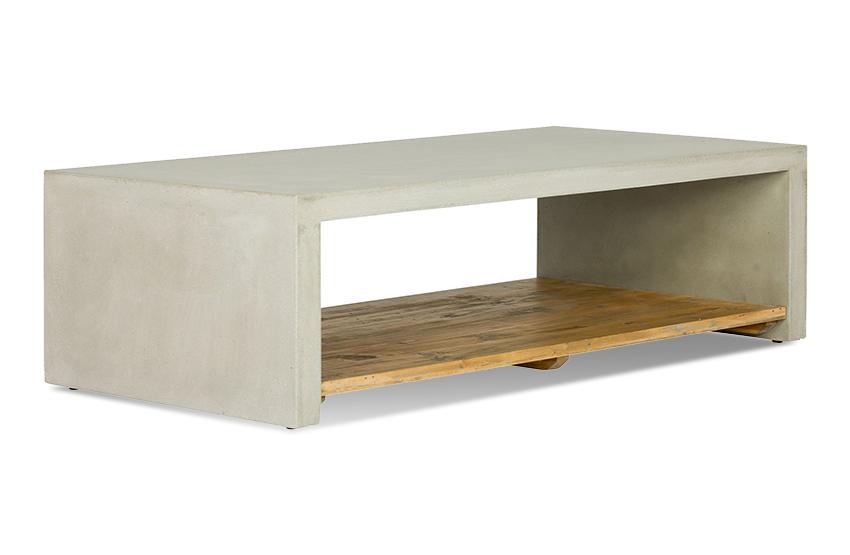 couchtisch anzio beton pinie massiv weiss lackiert. Black Bedroom Furniture Sets. Home Design Ideas
