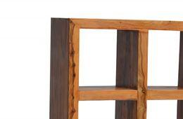 Ausstellungsartikel Bücherregal Cube massiv Holz Moebel Palisander Bücherschrank Regal – Bild 5