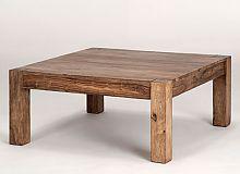 """Ausstellungsartikel Couchtisch 90x90 """"Cube"""" Palisander massiv Wohnzimmertisch Tisch Möbel – Bild 2"""