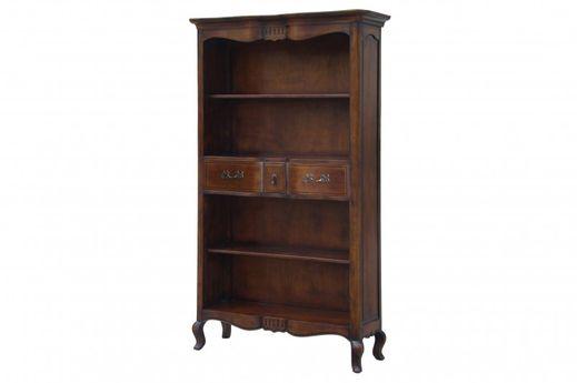 Bücherregal Vintage massiv Holz Wandregal Bücherwand Regal wand Shabby Chic