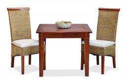 Esstisch 90x90 Capri Pinie braun massiv Holz Moebel Speisetisch Küchen tisch  – Bild 4