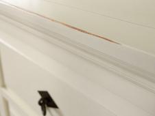 Sideboard Capri weiss Pinie massiv Holz Moebel Kommode Lowboard Kleider schrank – Bild 3