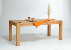 Esstisch 140/180x90 Lucerne aussziehbar Eiche massiv Holz Moebel Esszimmer tisch Küchentisch