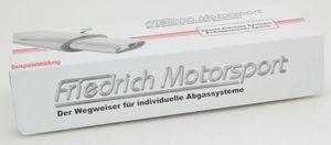 """Friedrich-Motosport 2"""" 2-Loch Flansch, 2-Loch Flansch für 50.8mm (2 Platten, eine Dichtung, 2 Schrauben)"""
