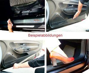 PKW Innenraum-Schutzfolie Carbon-Optik schwarz 230µ für Audi A4 Avant Typ B9 BJ.2015-