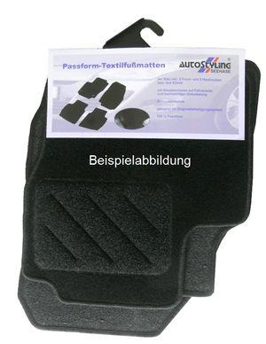 Nadelfilz-Fußmatten für Audi A3 Bj. 1997 bis Bj. 2003