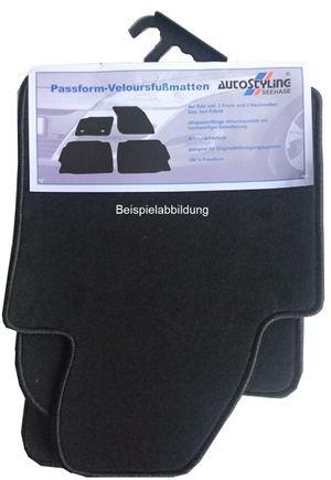 Velour-Fußmatten für Audi A3 ab Bj. 2003