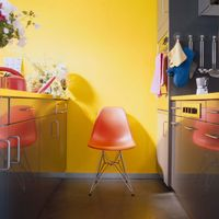 Vitra Eames Plastic Side Chair DSR Objektstuhl