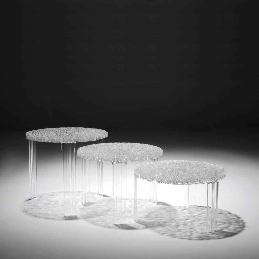 Kartell T-Table Beistelltisch Tische Beistell- & Couchtische
