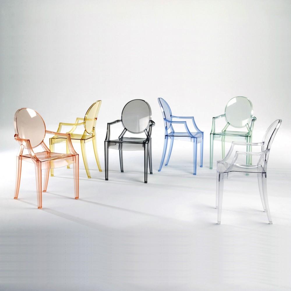 Kartell Louis Ghost Stuhl Sitzmöbel Stühle