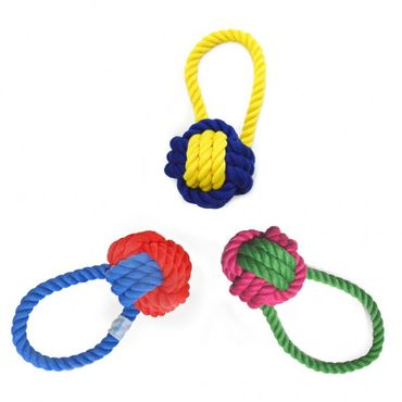 Waggo - Hundespielzeug Have a Ball Rope Toy – Bild 3