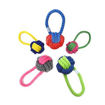 Waggo - Hundespielzeug Have a Ball Rope Toy – Bild 1