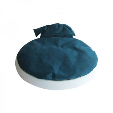 Naptime Schlafkissen Set Weiß / Hund Petrol – Bild 1