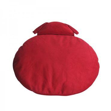 Naptime nur Schlafkissen Hund / Rot – Bild 1