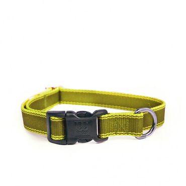 Hundehalsband  Stripe Hype - Olive – Bild 1