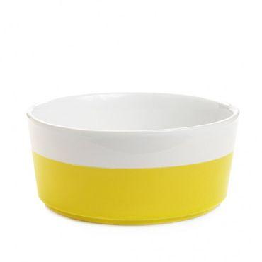 """Fressnapf """"Dipper"""" aus Keramik - Hello Yellow – Bild 1"""