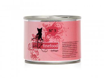 Catz finefood No. 3 Geflügel 200g – Bild 1
