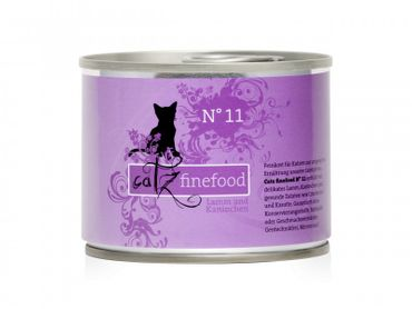 Catz finefood No. 11 Lamm & Kaninchen 200g – Bild 1