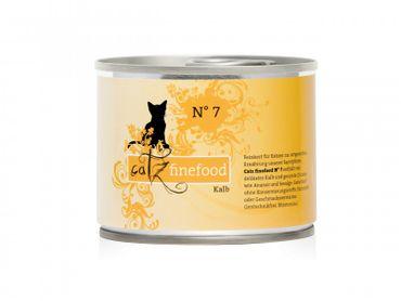 Catz finefood No. 7 Kalb 6 x 200g Sparpaket – Bild 2