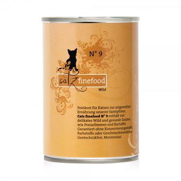 Catz finefood No. 9 Wild 400g – Bild 1
