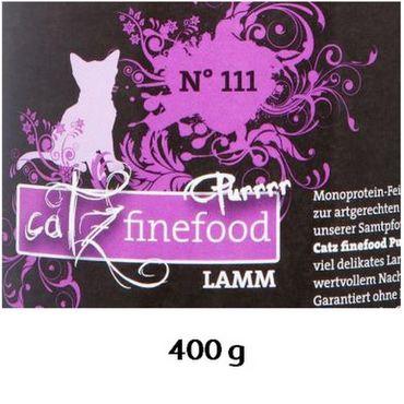 Catz Purrrr No. 111 Lamm 400g