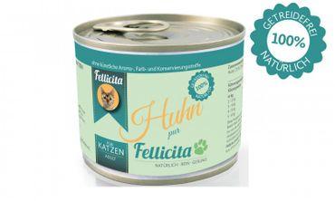 Fellicita 6 x 200g Huhn pur und 6 x 200g Hering, Krabben & Huhn Sparpaket ( - 5% Rabatt) – Bild 1
