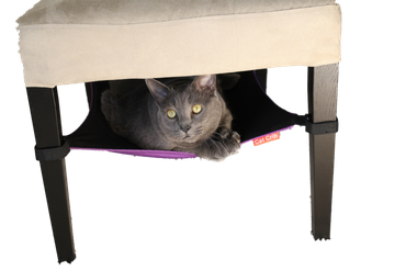 Cat Crib Purple – Bild 2