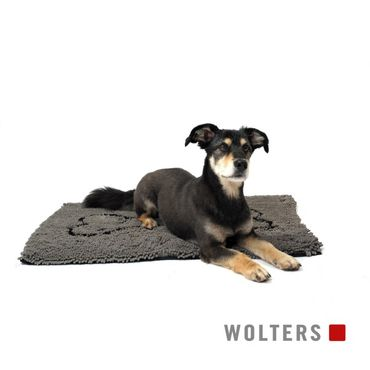 Wolters Dirty Dog Doormat Grau – Bild 3