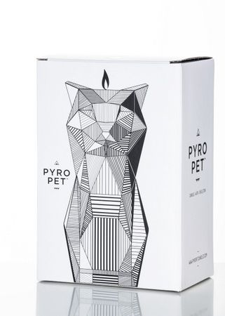 "Pyro Pet Kerze Katze ""Kisa"" - Pink – Bild 8"