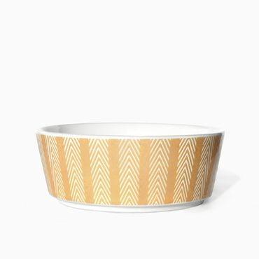 """Fressnapf """"Chevron Stripe"""" aus Keramik - (S+M)"""