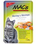 MAC´s Hering & Shrimps mit Karotten und Lachsöl 100g 001
