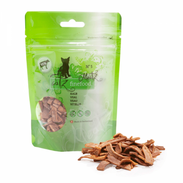 Catz Finefood Meatz No. 5 - Kalb 45g