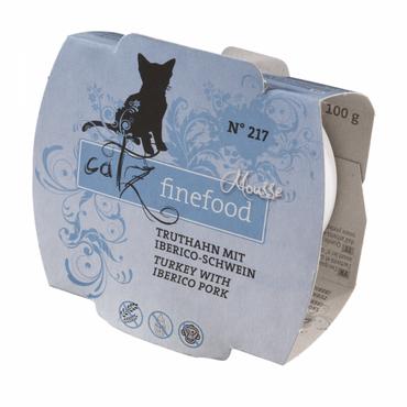 Catz finefood Mousse - No. 217 Truthahn mit Iberico-Schwein 100g – Bild 1