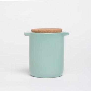 "Aufbewahrung ""Too Hot Too Handle"" aus Keramik - Mint"