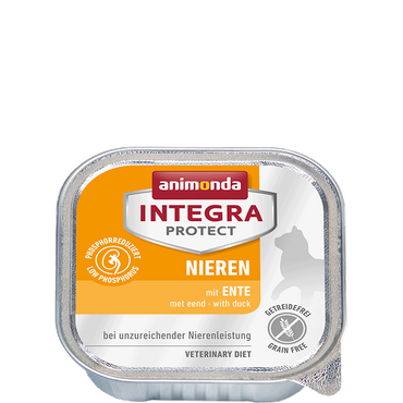 Animonda Integra Protect Nieren Adult mit Ente 100g – Bild 1