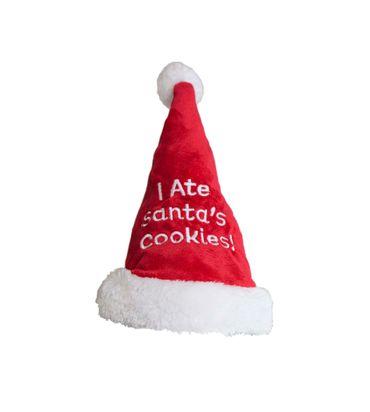 Santa Hat I Ate Cookies Small