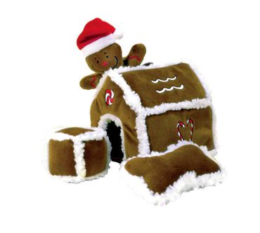 Hide-A-Toy Gingerbread House von Outward Hound