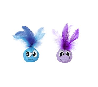 Feather Balls von Petstages - 2-teilig