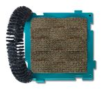 Mix & Scratch Wavy Scratcher with Grooming Brush