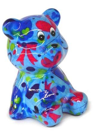 "Petit Pidou Spardose ""Teddy"" in knalligen Farben – Bild 2"