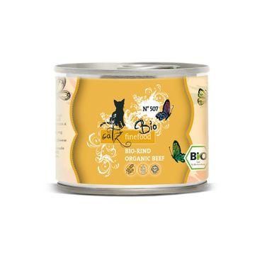 Catz finefood Bio N°507 - Rind 6 x 200g Sparpaket (- 5% Rabatt) – Bild 1